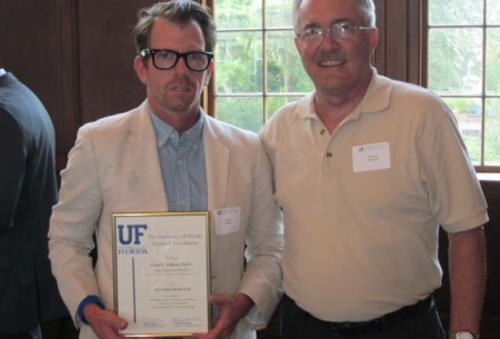Dr. Chris Gibson is awarded a prestigious University of Florida Research Foundation Professorship (with Dr. Richard Hollinger).
